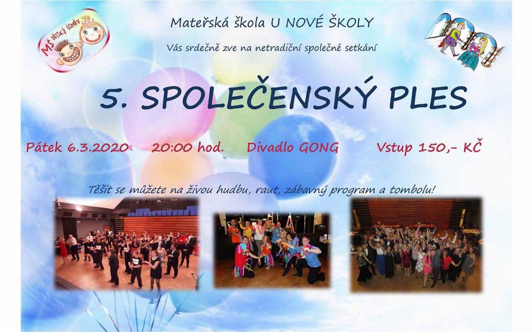 5. Společenský ples Praha